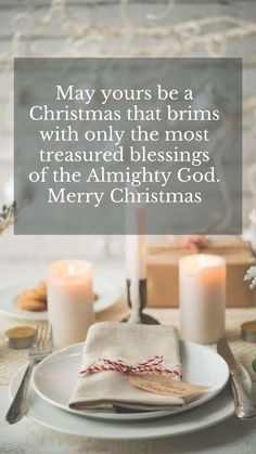 Blessings for Christmas cards simple quotes for Xmas holidays. May yours be a Christmas that brims with only the most treasured blessings of the Almighty God. Merry Christmas. #merrychristmasgreetings #greetingsforchristmascards #xmasgreetings