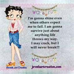Betty Boop | Jewels Art Creation