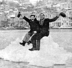 Buz gibi Boğaz (1954) #istanbul #boğaz #istanlook