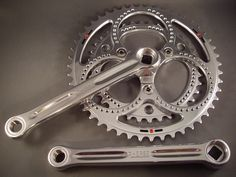Compass Rene Herse Cranks - simply gorgeous