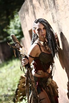 Post apocalyptic shaman by The Lazy Dweller  #Wasteland #Post #Apocalyptic…
