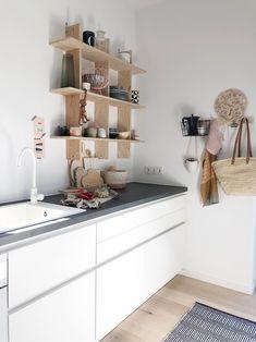 Küchenliebe #kitchen#küche#whiteandwood#whitehome#l.