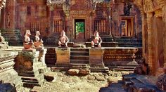 Banteay Srei, Siem Reap, Cambodia [Explored 93 on Wednesday, June Siem Reap, Angkor Wat, Scandal, Cambodia, Medieval, Nude, Explore, Wednesday, Twitter