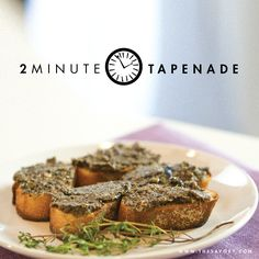 Easy Restaurant-Style Black Olive Tapenade