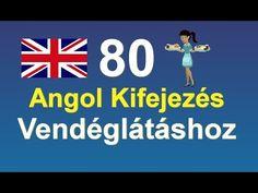 80 Angol Kifejezés Vendéglátáshoz - YouTube Teaching English, English Language, Education, Film, Youtube, English, Movie, English People, Film Stock