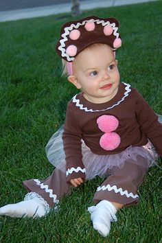 Gingerbread girl costume