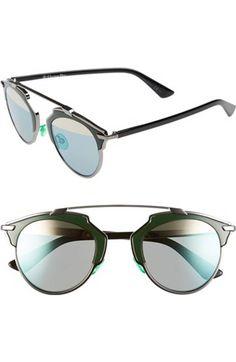 5b1a217d436 Dior Technologic 57mm Brow Bar Sunglasses