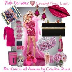 Pink October | Barbie wears faux fur