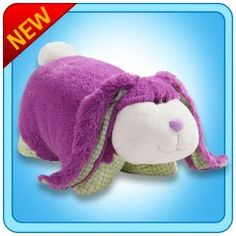 Bunny Pillow pets are an adorable Christmas or birthday gift idea for any young child or pillow pet fan who loves rabbits of all different colors...