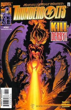 THUNDERBOLTS #32 Marvel comics villian series.One of my favorites.