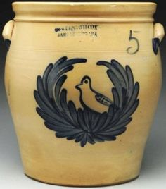 Outstanding 5-Gallon Stoneware Crock.