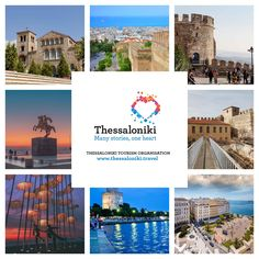 It is hard to fit it all in one day in Thessaloniki! Start from the city's most important monuments. Thessaloniki, Macedonia, Stunning View, The Locals, How To Introduce Yourself, Night Life, Tourism, Explore, City