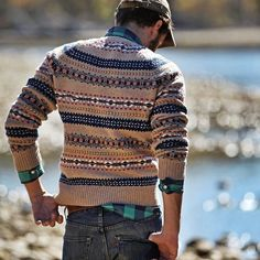 autumn pairing: fair isle and buffalo check