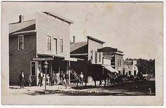 Real Photo Postcard a Street Scene in Radcliff, Iowa~32549
