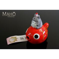 Japanese symbol of summer: Wind chime Furin Totoro Goldfish