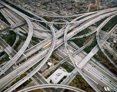 Complexo e incrível - o sistema viário de Los Angeles, na Califórnia