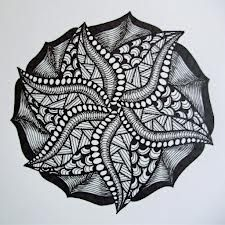starfish zentangle - Google Search