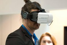An awesome Virtual Reality pic! IMMERSIVE VR EXPERIENCE @ STAND SIEMENS _ EUROCUCINA 2016 3AXIS project by AXIS communications #vr #VirtualReality #axiscommunications #3d #3axis #siemens #Eurocucina #cardboard #mdw16 by axis_communications check us out: http://bit.ly/1KyLetq