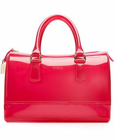 Furla Handbag, Candy Bauletto Satchel: I want this!