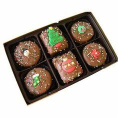 Chocolate Rice Krispie Oreo Christmas