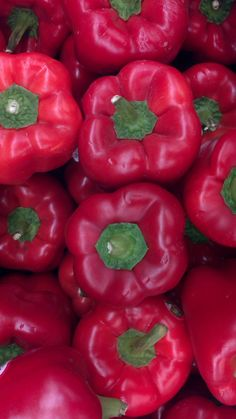 Red Peppers have to have one at least four time a week. My favorite food honestly! Fruit And Veg, Fresh Fruit, Fruits And Veggies, Fruits And Vegetables, Peppers And Onions, Red Peppers, Minis, Eat The Rainbow, Grow Your Own Food