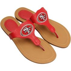 San Francisco Cuce Shoes Women's Team Sandals - Cardinal Quest for Six Sf Niners, Forty Niners, 49ers Fans, Nfl Fans, 49ers Pictures, 49ers Outfit, Cardinals Team, Platform Wedges Shoes, San Francisco 49ers