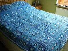 Love this blue blanket