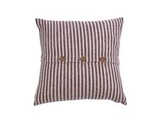 Etawah Cream & Burgundy Cushion Cover