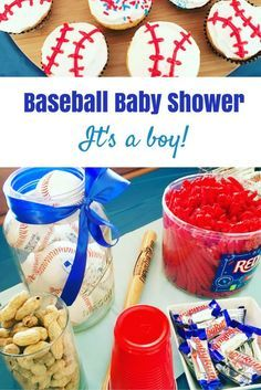 looking to plan the perfect coed baby shower here baseball baby