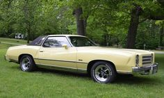 1976 Chevrolet Monte Carlo Landau Coupe, 5.7 Liter 4bbl /TH350 Auto