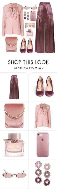 """Untitled #2333"" by ebramos ❤ liked on Polyvore featuring Temperley London, Sam Edelman, Cafuné, Etro, Burberry, Speck, Cartier and INC International Concepts"