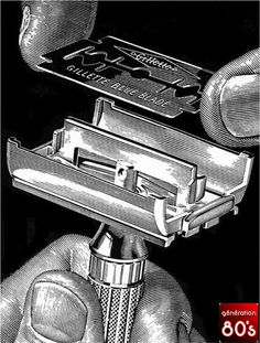 This is a razor, I remember my Dad had one just like it and I cut my thumb on it getting something out of his shaving kit. Still have the scar to prove it! Nostalgia, Sweet Memories, Childhood Memories, Cherished Memories, Wet Shaving, Ol Days, The Good Old Days, Vintage Ads, Old School
