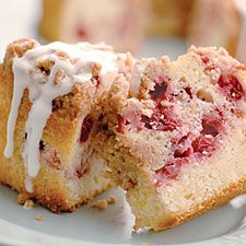 Yogurt-Cranberry Coffeecake: King Arthur Flour. Use your leftover cranberry sauce for this recipe.