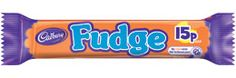 finger of fudge, which is just enough!