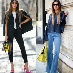 Cape outfit / Flare outfit