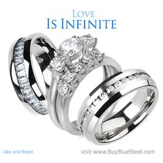 Love Is Infinite. Agree? Find One Of These At Forty Percent Off Today... #BuyBlueSteel