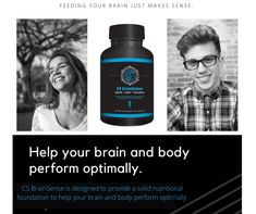A Healthy Life Is Within Reach Experience a refreshing new level of wellness with BrainSense! Brain Health, Make Sense, Did You Know, Healthy Life, Nutrition, Wellness, Personal Care, Self Care, Healthy Living