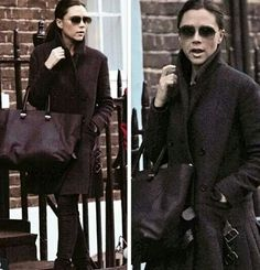 Victoria Beckham Style, Messenger Bag, Clothes For Women, Stylish, Coat, Womens Fashion, Jackets, Outerwear Women, Down Jackets