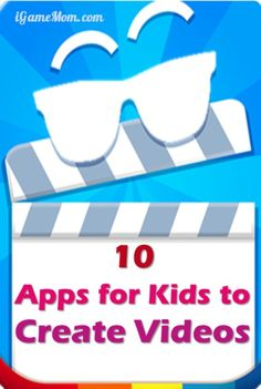 Do you kids like to play with the cameras on your phones and tablets? Why not leverage their interest to build some learning into the fun? Here are 10 apps (many are even free) that teaches kids how to make movies and videos into stories and presentations Teaching Kids, Kids Learning, Steam Learning, Presentation App, Coding For Kids, Digital Storytelling, Summer School, Stop Motion, Learning Resources