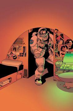 Spaceman by Eduardo Risso *