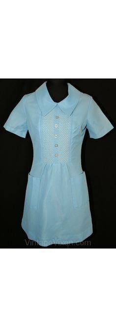 60's nurse's dress...<3