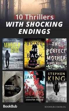 The Twistiest Thrillers of the Summer, According to Readers 10 shocking thrillers with endings you'll never see coming! Best Books To Read, I Love Books, Good Books, My Books, Books To Read 2018, Book Club Books, Book Nerd, Book Lists, Book Suggestions