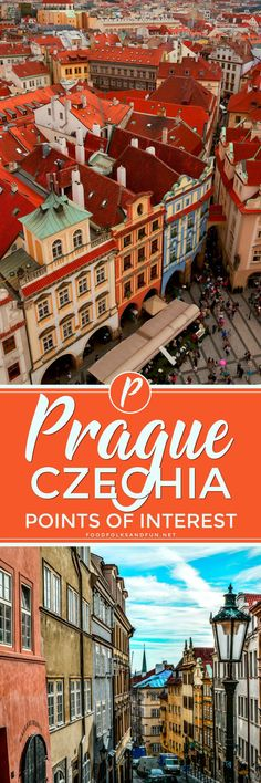 "Whether you spend 2 days or 2 weeks in Prague, I guarantee you'll leave completely charmed by this extraordinary city. You'll think to yourself ""when can I come back?"". Here are my top Prague Points of Interest! 