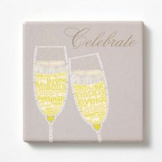 """Enesco Wild About Words Champagne Coaster, 4.25"""", Multicolor *** Be sure to check out this awesome product."""