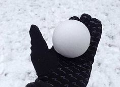 The perfect snowball  themostsatisfying.com