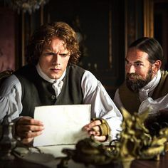 Jamie and Murtagh will do whatever it takes to protect Scotland. #Outlander
