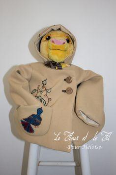 Manteau et béguin pour Héloïse Intemporels pour bébé (IPBB)
