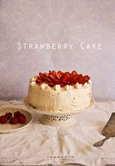 Strawberry Cake @Lorraine Siew Elliott