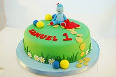 Image result for iggle piggle cake Thomas Birthday, Boy Birthday, Birthday Cakes, Night Garden, First Birthdays, Cake Decorating, Desserts, Image, Food