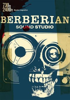 Berberian Sound Studio (2012) - alternative poster by Julian House